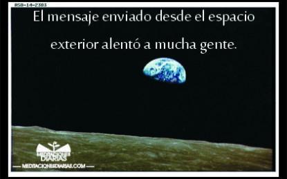 Un mensaje del espacio exterior