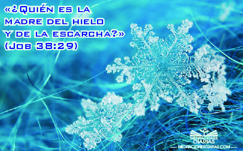 Pequeños cristales de hielo