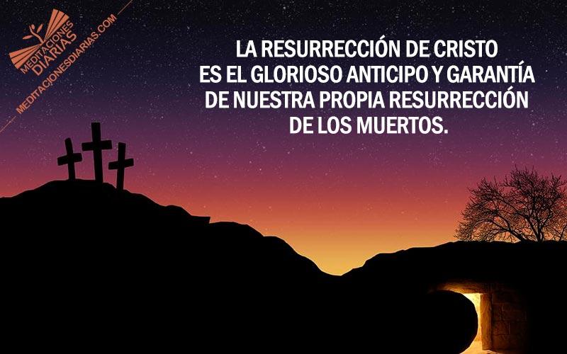 Un triunfo sellado con la resurrección