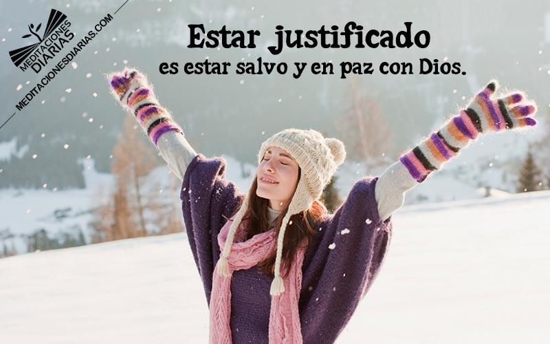 La bendición de la justificación