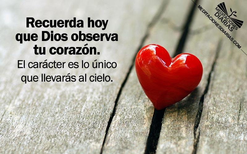 Dios mira el corazón