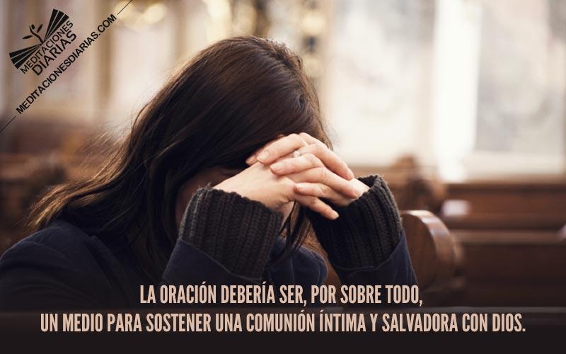 Una vida de oración confiada