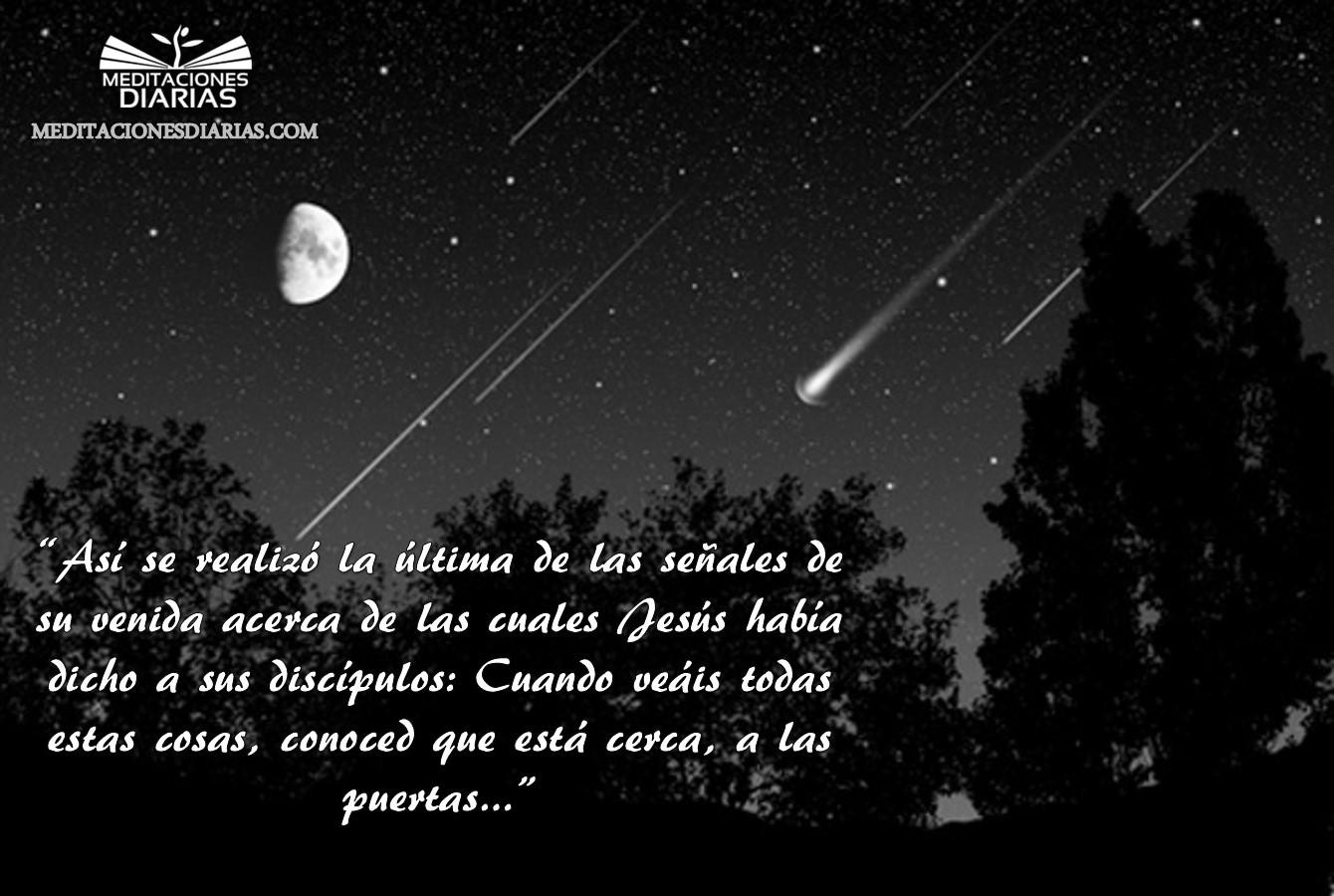 Caen las estrellas del cielo