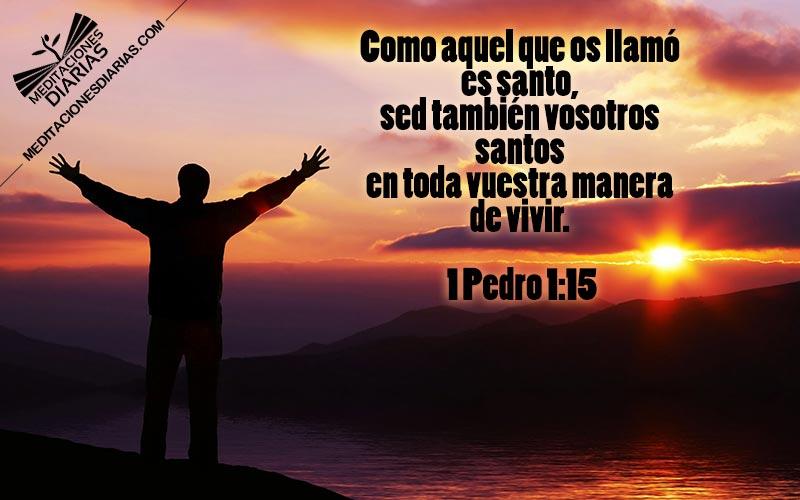 Dios es santo