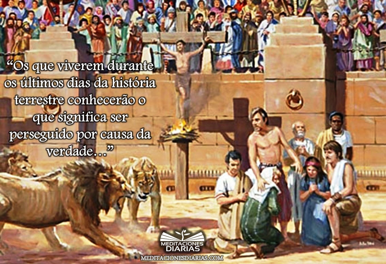 Perseguidos por amor a Cristo