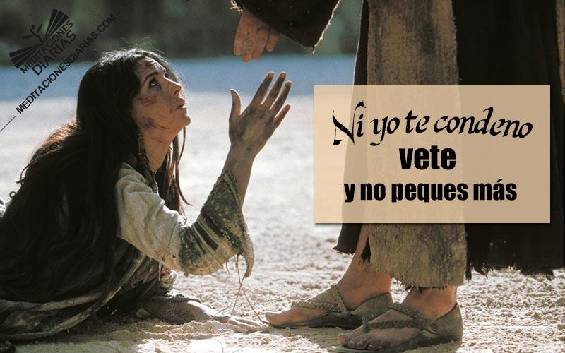 El que Esté sin Pecado Tire la Primera Piedra