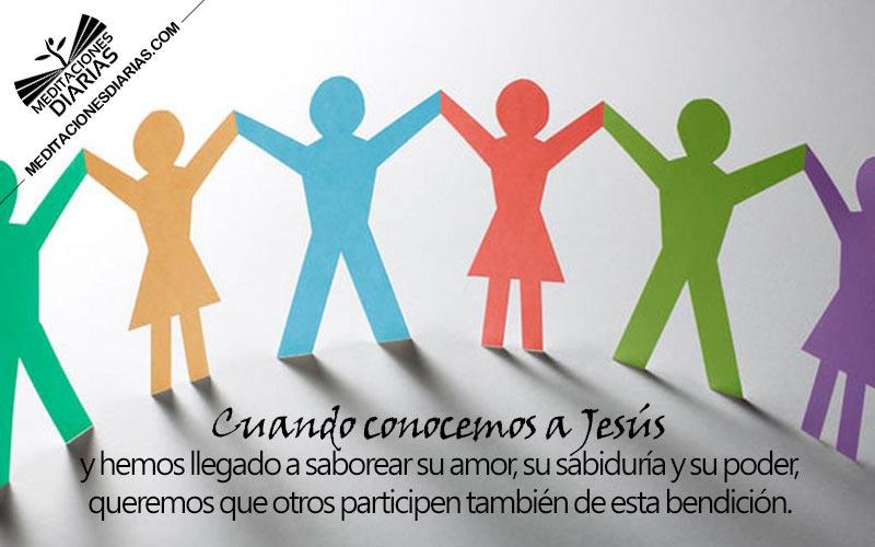 Todo discípulo se convierte en misionero