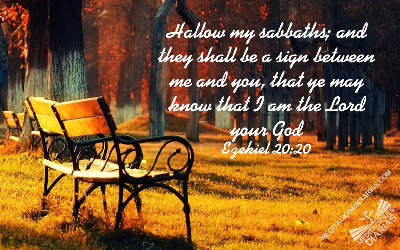 The Sabbath is God's Mark