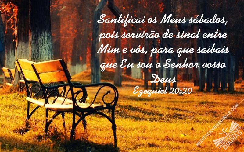 O Sábado é o sinal de Deus