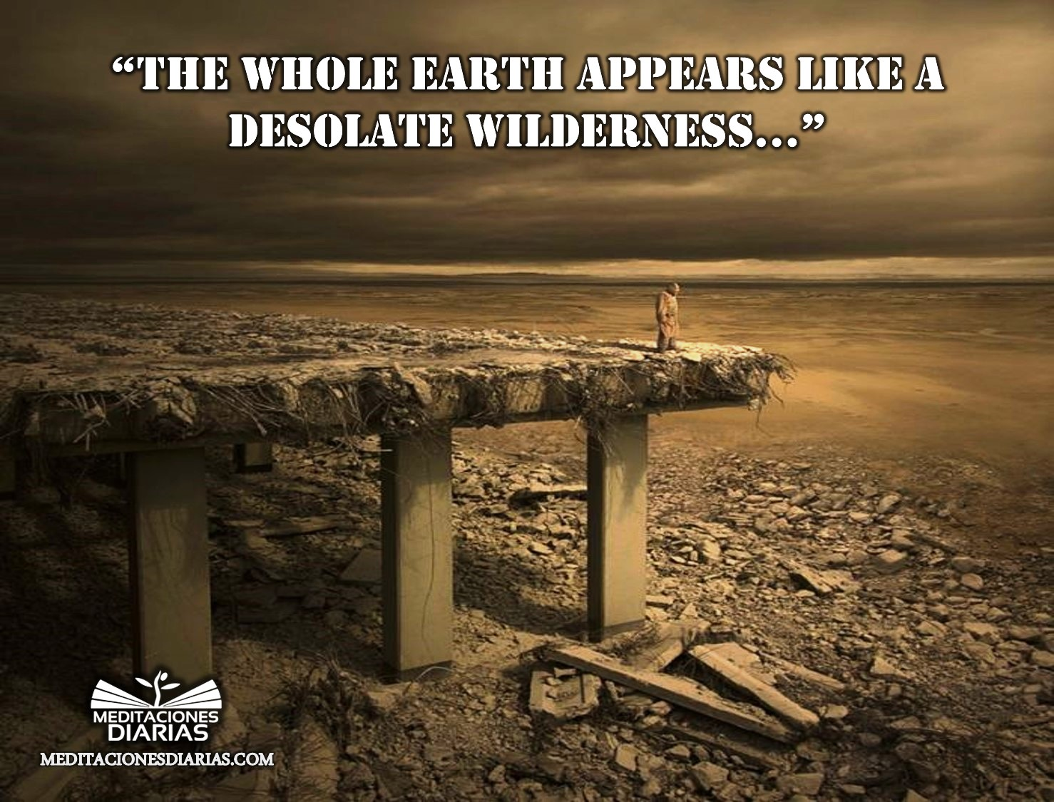 The Earth Depopulated