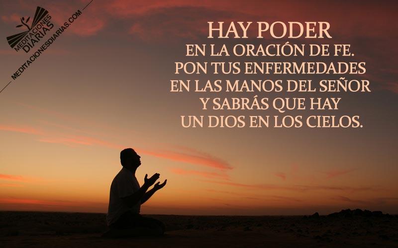 Una oración de fe