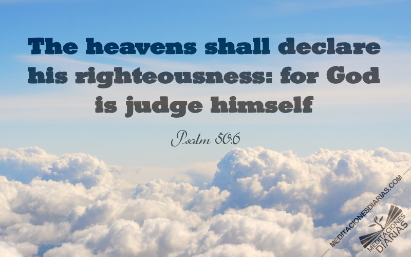 God's Law Appears in the Heavens