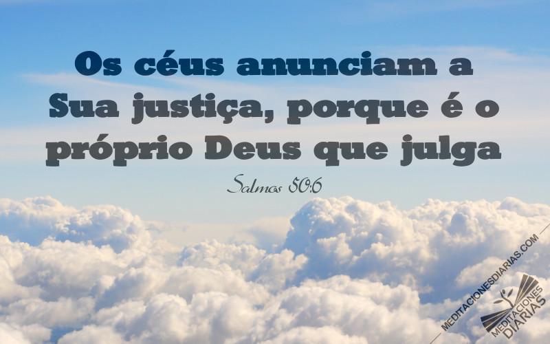 A lei de Deus aparece no céu