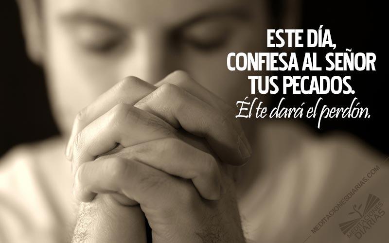 La confesión de los pecados