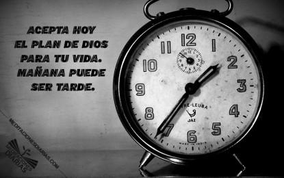 El tiempo no será más