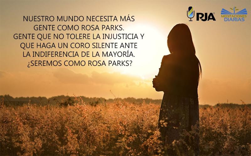 ¡No a la injusticia!