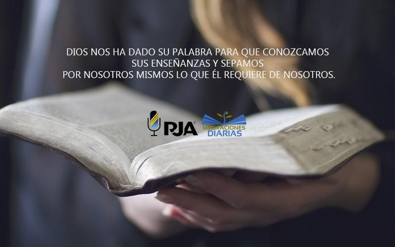 Las Escrituras, Nuestra Mejor Proteccion