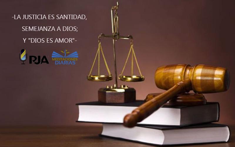 Justicia es. . .