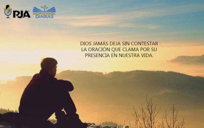 La oración que sale del corazón