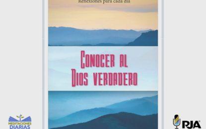 CONOCERLO PARA SERVIRLE Y PARA SERVIR