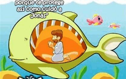 Jesús Escucha la Oración de Jonás