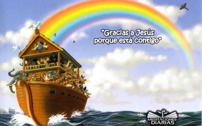 Noé se Salva del Diluvio