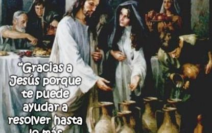 La Mamá de Jesús y el Milagro