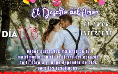 DÍA 16: EL AMOR INTERCEDE